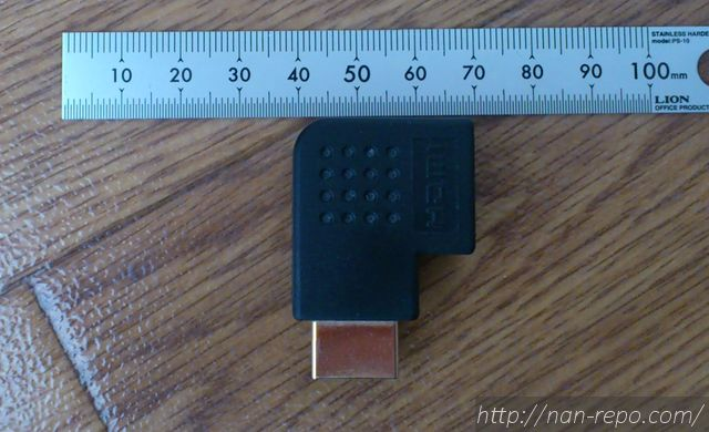HDMIアダプタ横L型6